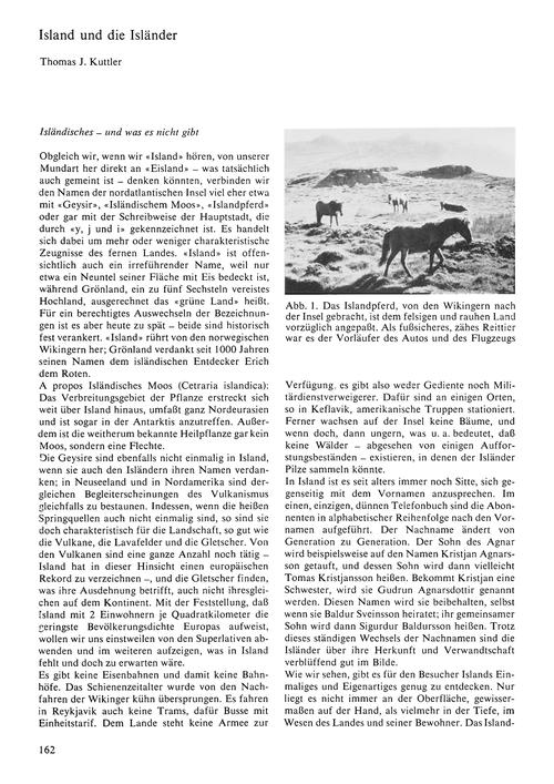 Island Und Die Isländer : Volume 25, Iss... by Kuttler, T. J.