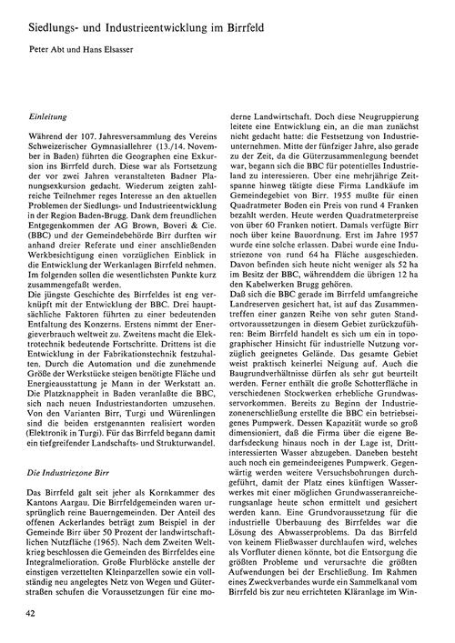 Siedlungs- Und Industrieentwicklung Im B... by Abt, P.