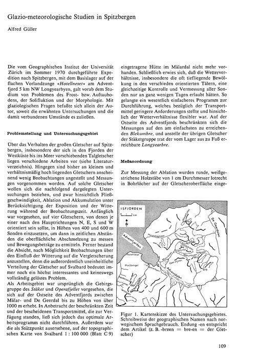 Glazio-meterologische Studien in Spitzbe... by Güller, A.