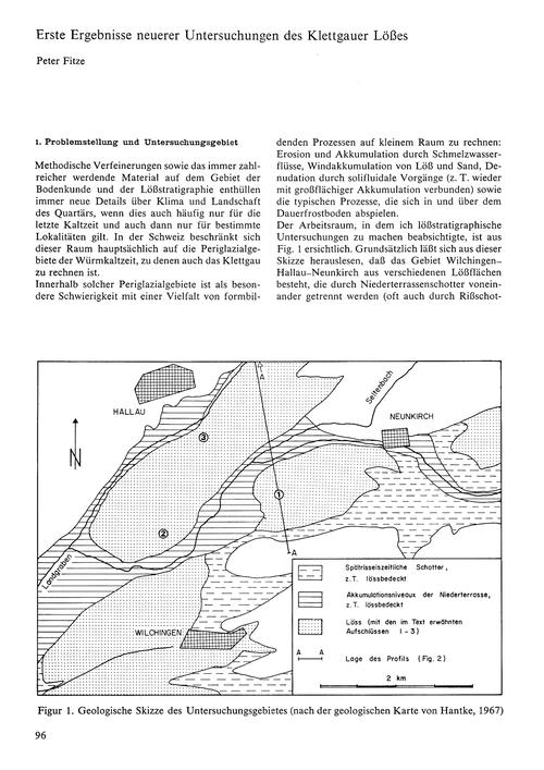 Erste Ergebnisse Neuerer Untersuchungen ... by Fitze, P.