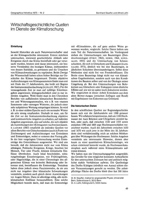 Wirtschaftsgeschichtliche Quellen Im Die... by Stauffer, B.