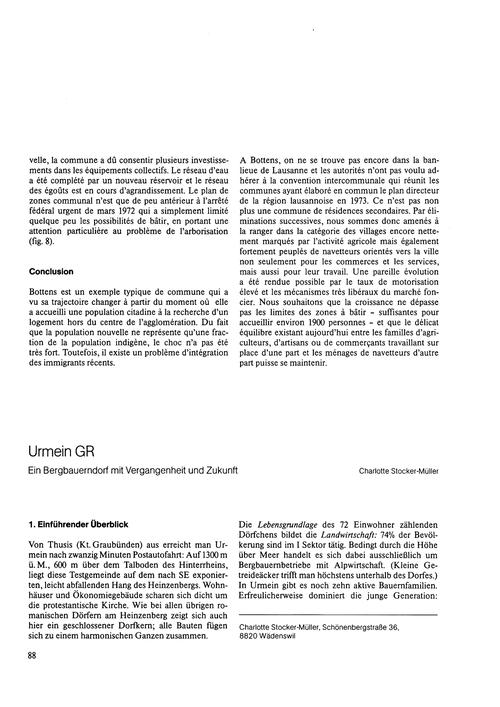 Urmein Gr : Ein Bergbauerndorf Mit Verga... by Stocker-müller, C.