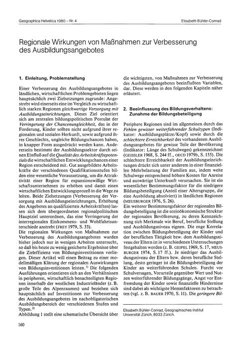 Regionale Wirkungen Von Massnahmen Zur V... by Bühler-conrad, E.