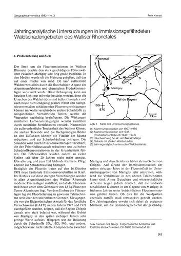 Jahrringanalytische Untersuchungen in Im... by Kienast, F.