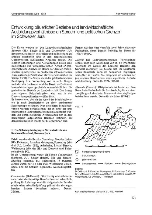 Entwicklung Bäuerlicher Betriebe Und Lan... by Wasmer-ramer, K.