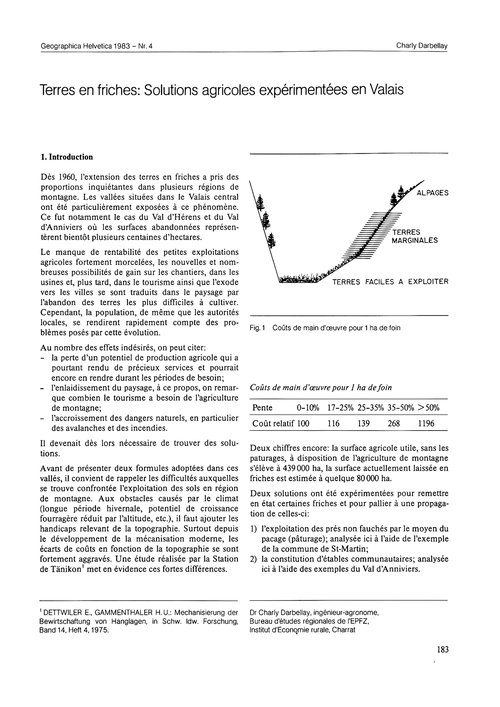 Terres En Friches : Solutions Agricoles ... by Darbelley, C.