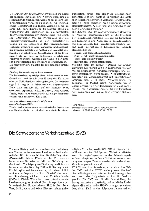 Die Schweizerische Verkehrszentrale (Svz... by