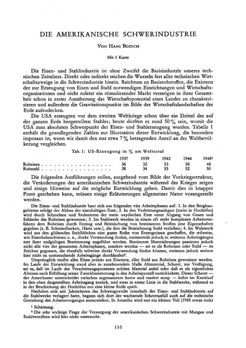 Die Amerikanische Schwerindustrie : Volu... by Boesch, H.