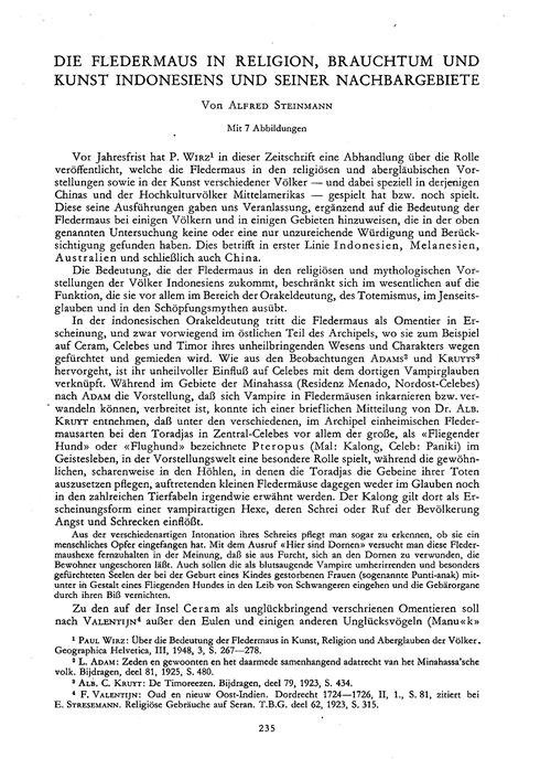Die Fledermaus in Religion, Brauchtum Un... by Steinmann, A.