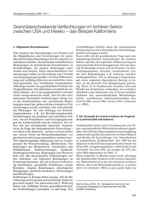 Grenzüberschreitende Verflechtungen Im T... by Mikus, W.