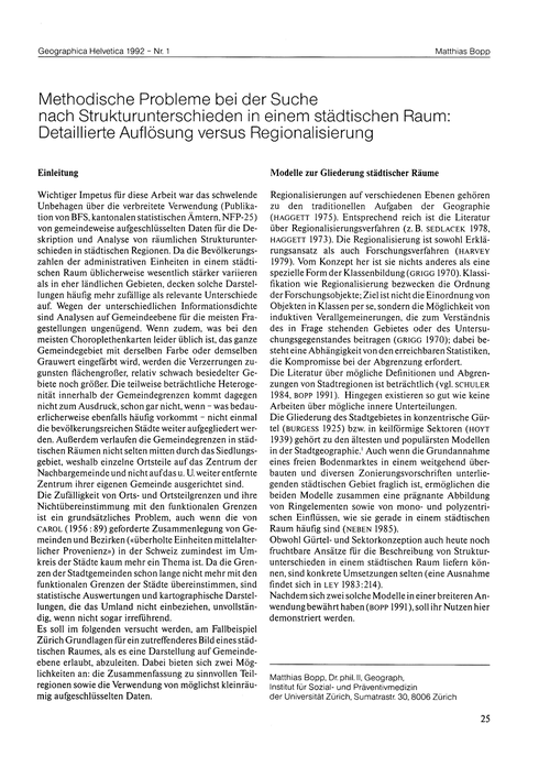 Methodische Probleme Bei Der Suche Nach ... by Bopp, M.