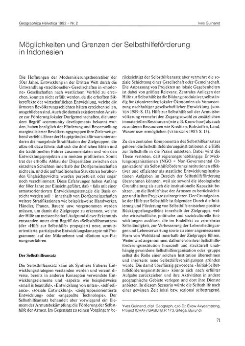 Möglichkeiten Und Grenzen Der Selbsthhil... by Guinand, I.
