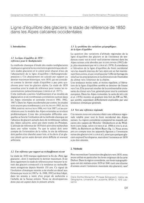 Ligne D'Équilibre Des Glaciers : Le Stad... by Dorthe-monachon, C.
