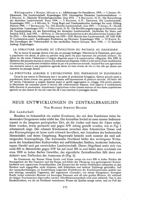 Neue Entwicklungen in Zentralbrasilien :... by Streiff-becker, R.