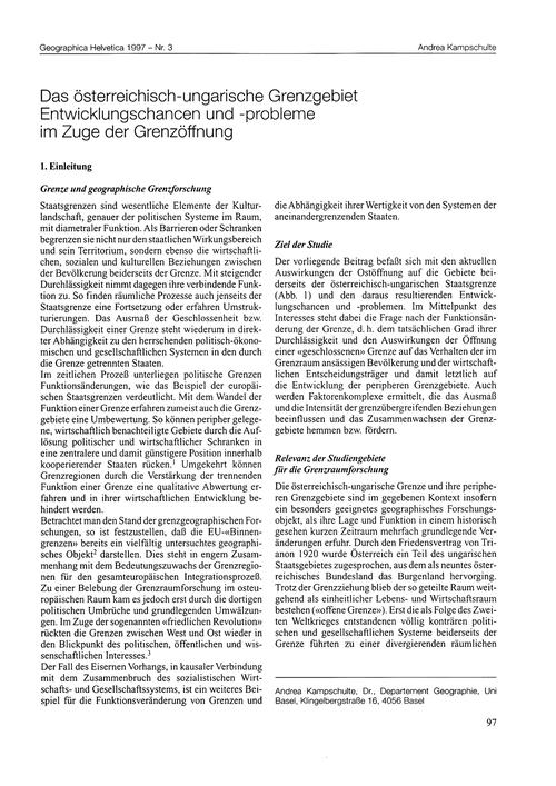 Das Österreichisch-ungarische Grenzgebie... by Kampschulte, A.
