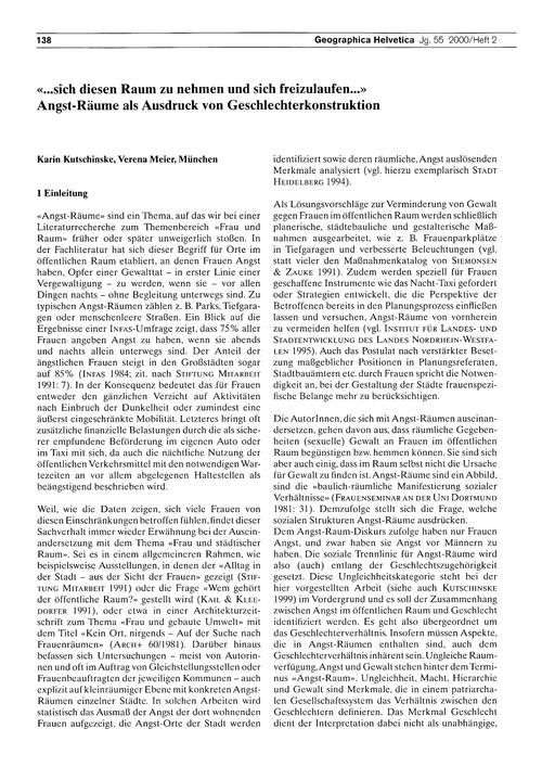 ...Sich Diesen Raum Zu Nehmen Und Sich F... by Kutschinske, K.