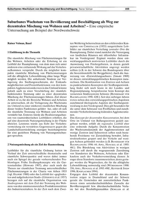 Suburbanes Wachstum Von Bevölkerung Und ... by Volman, R.
