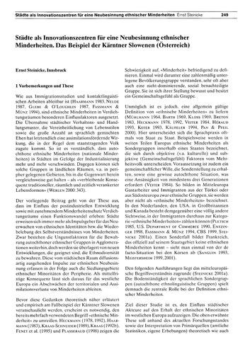 Städte Als Innovationszentren Für Eine N... by Steinicke, E.