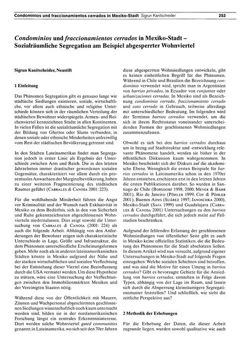 Condominios Und Fraccionamientos Cerrado... by Kanitscheider, S.