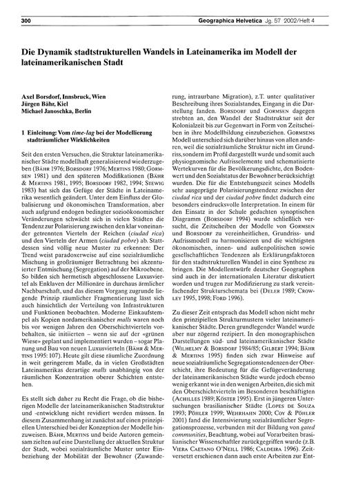 Die Dynamik Stadtstrukturellen Wandels i... by Borsdorf, A.