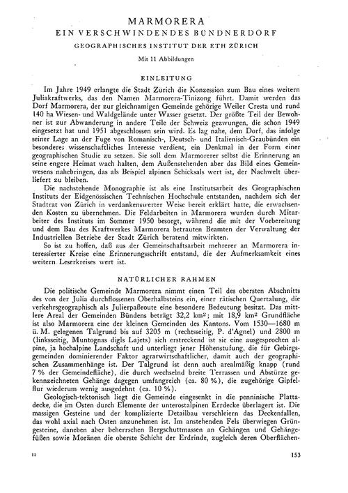 Marmorera : Ein Verschwindendes Bündnerd... by Eidgenössische Technische Hochschule (Zürich). Geo...
