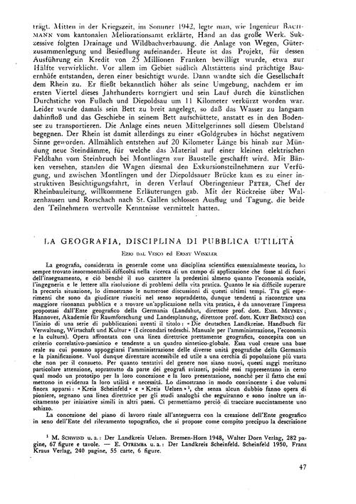 La Geografia, Disciplina Di Pubblica Uti... by Dal Vesco, E.