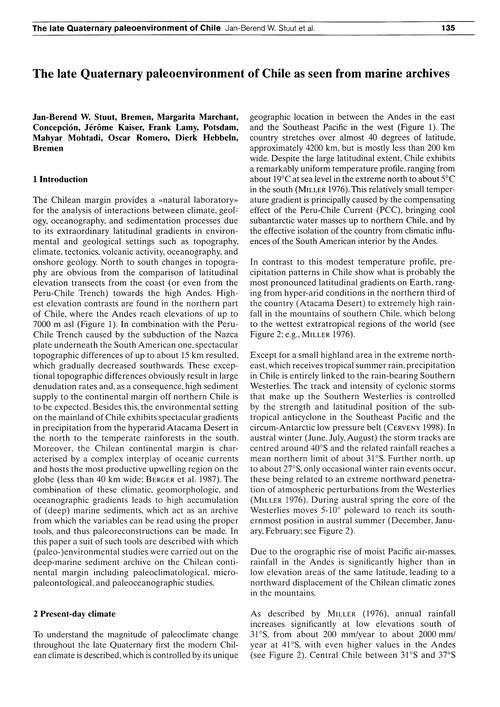 The Late Quaternary Paleoenvironment of ... by Stuut, J.-b. W.