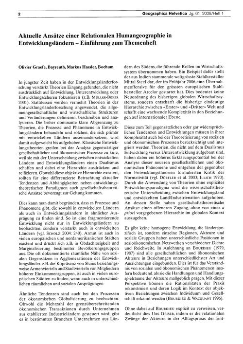 Aktuelle Ansätze Einer Relationalen Huma... by Graefe, O.