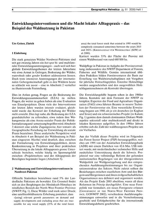 Entwicklungsinterventionen Und Die MacHt... by Geiser, U.