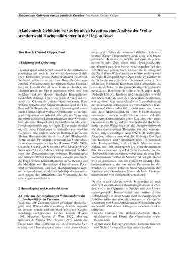 Akademisch Gebildete Versus Beruflich Kr... by Haisch, T.
