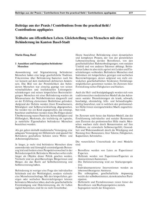 Teilhabe Am Öffentlichen Leben : Gleichs... by Haug, M.