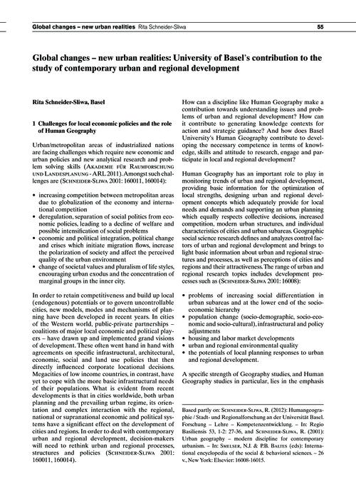 Global Changes – New Urban Realities: Un... by Schneider-sliwa, R.