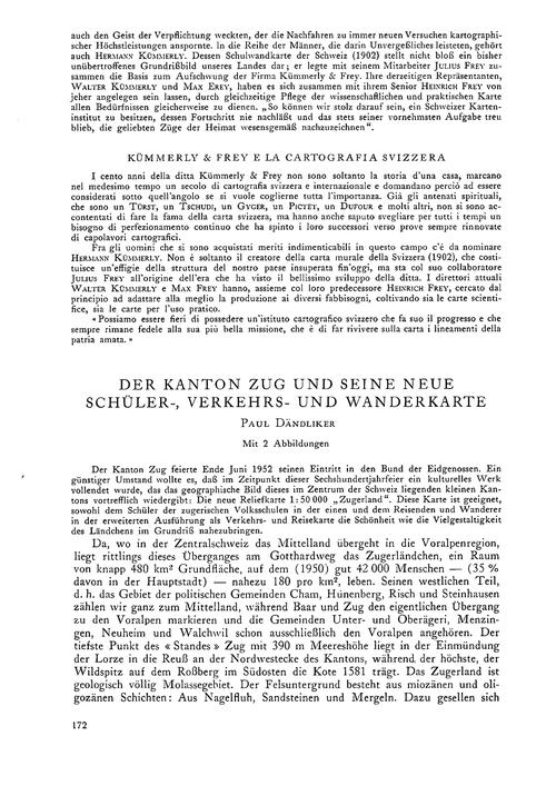 Der Kanton Zug Und Seine Neue Schüler-, ... by Dändliker, P.