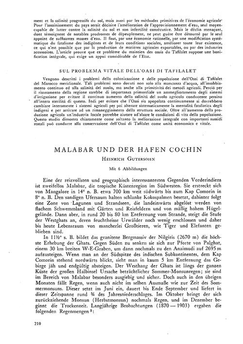 Malabar Und Der Hafen Cochin : Volume 7,... by Gutersohn, H.