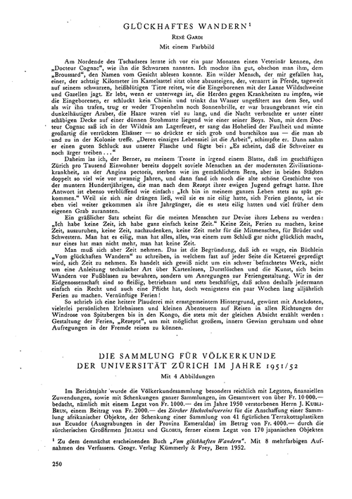 Glückhaftes Wandern : Volume 7, Issue 1 ... by Gardi, R.