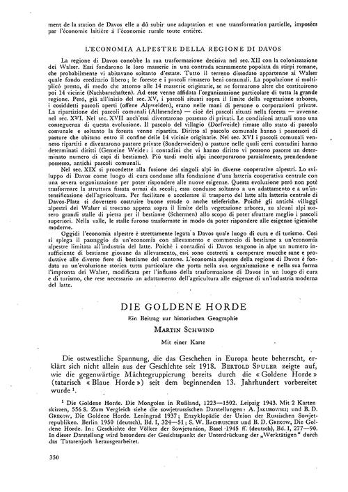 Die Goldene Horde : Ein Beitrag Zur Hist... by Schwind, M.