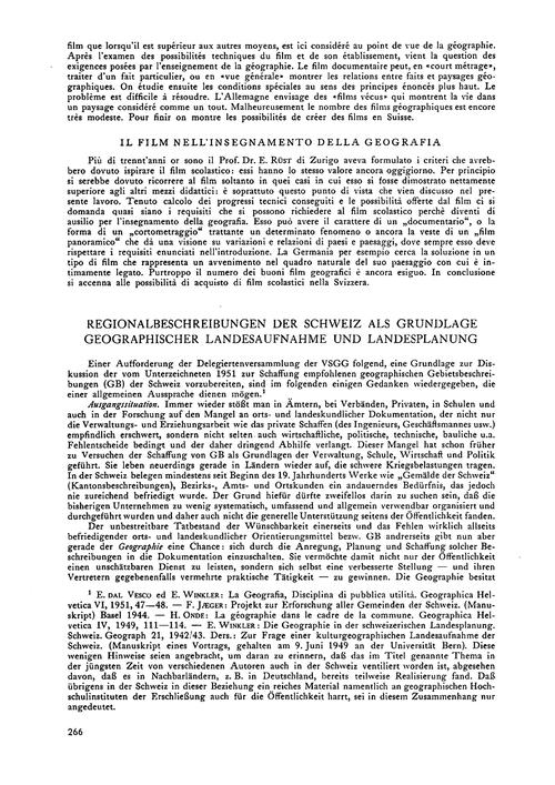 Regionalbeschreibungen Der Schweiz Als G... by Winkler, E.