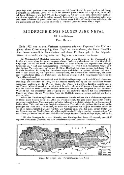 Eindrücke Eines Fluges Über Nepal : Volu... by Rauch, E.