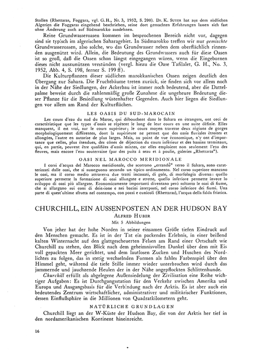 Churchill, Ein Aussenposten an Der Hudso... by Huber, A.