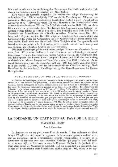 La Jordanie, Un État Neuf Au Pays De La ... by Perret, M.-ed.