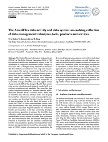 The Ameriflux Data Activity and Data Sys... by Boden, T. A.