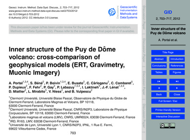 Inner Structure of the Puy De Dôme Volca... by Portal, A.