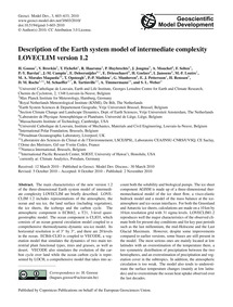Description of the Earth System Model of... by Goosse, H.