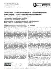 Simulation of Variability in Atmospheric... by Koyama, Y.