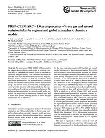 Prep-chem-src – 1.0: a Preprocessor of T... by Freitas, S. R.