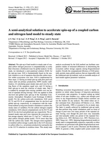 A Semi-analytical Solution to Accelerate... by Xia, J. Y.