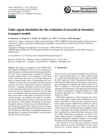 Lidar Signal Simulation for the Evaluati... by Stromatas, S.