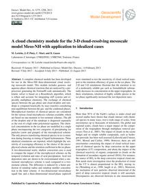 A Cloud Chemistry Module for the 3-d Clo... by Leriche, M.