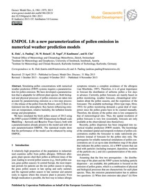 Empol 1.0: a New Parameterization of Pol... by Zink, K.