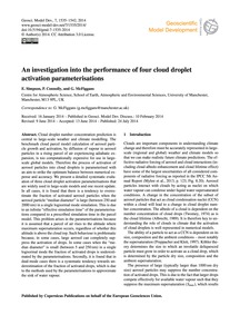 An Investigation Into the Performance of... by Simpson, E.